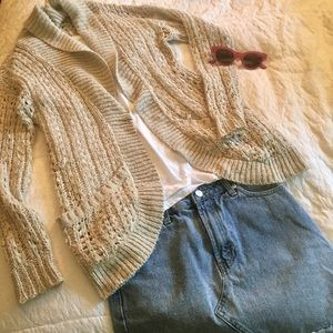 Urban Outfitters Staring at Stars Knit Cardigan